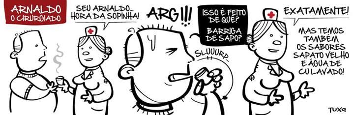 Arnaldo, o cirurgiado - 001