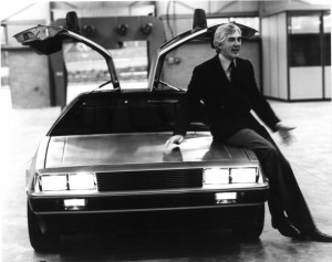 DeLorean e Giugiaro
