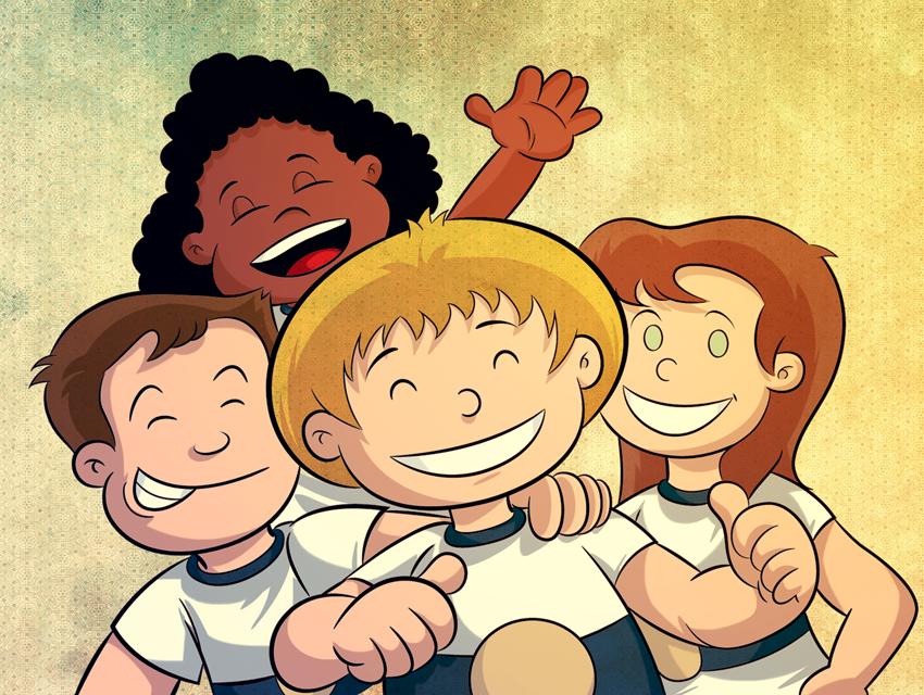 Em uma aventura inédita, Logan é matriculado em uma nova escola e o desafio da inclusão se faz presente