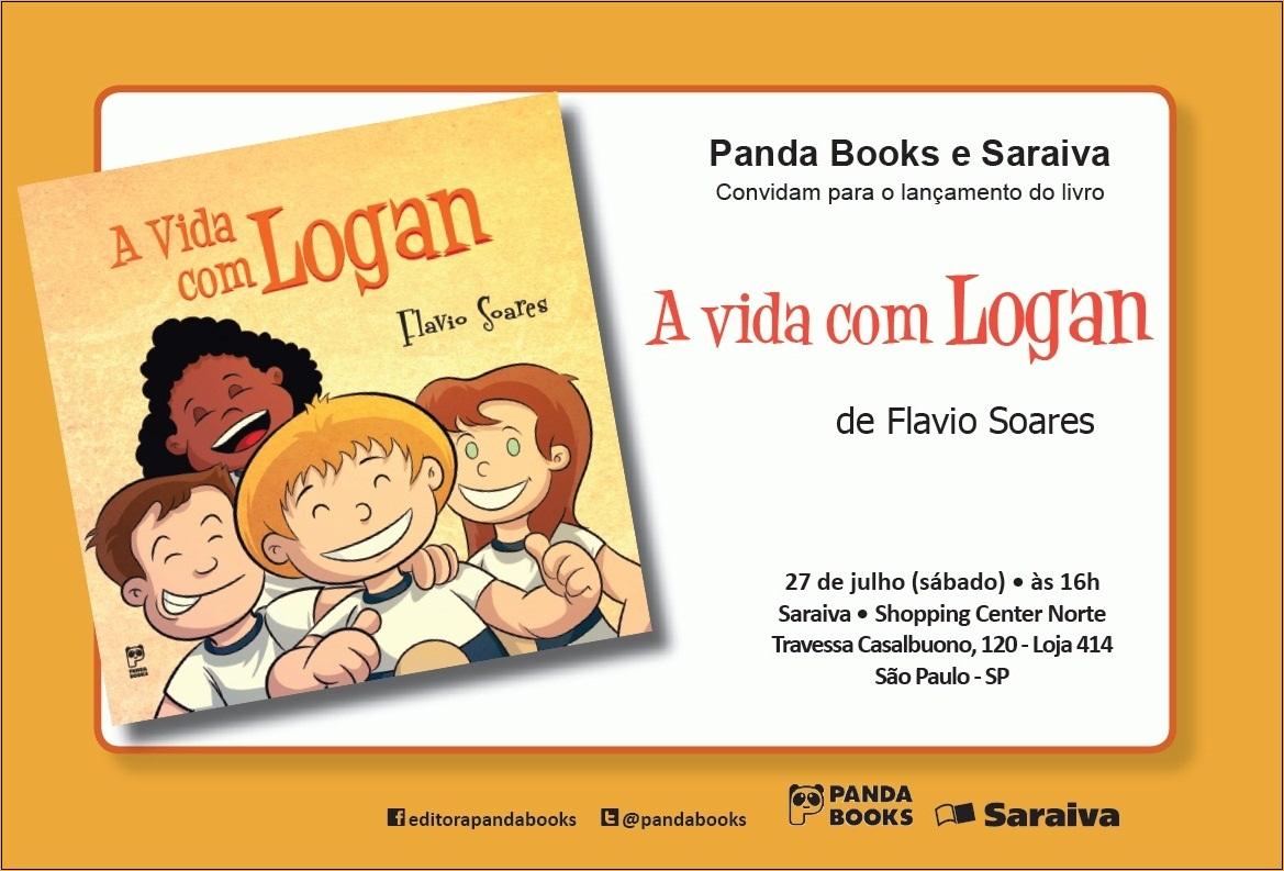 Convite Virtual Vida com Logan