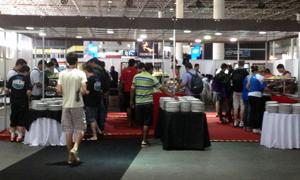"""Catering (ou """"bandejão"""") da Campus Party 2013"""