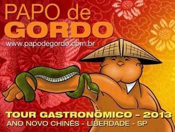 Não perca o Tour Gastronômico Papo de Gordo 2013
